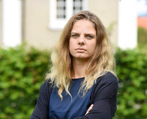 Juliana Strogan,verdensarvkoordinator for Rjukan og Notodden.
