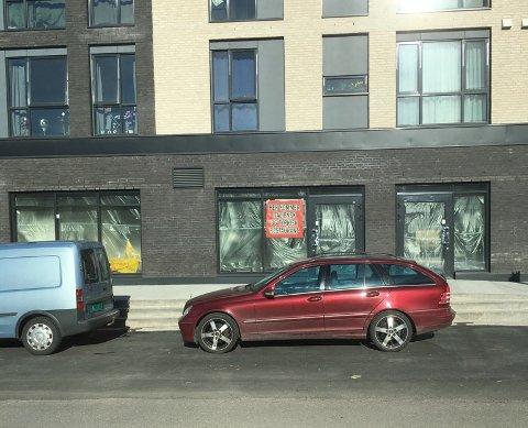 NY RESTAURANT: I dette bygget tar Jose Sheiko sikte på å åpne både restaurant og frisør i løpet av mai.