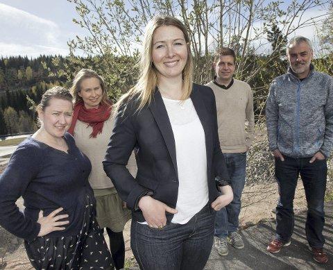Mange nye: Hurum Sp stiller med tre kvinner på topp, og har tro på et godt valgresultat til høsten.Foto: Henning A. Jønholdt
