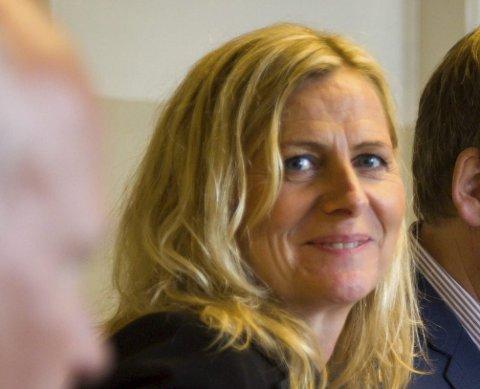 HØYRES KANDIDAT: Monica Vee Bratlie er sittende ordfører i Hurum og er gjenvalgt.