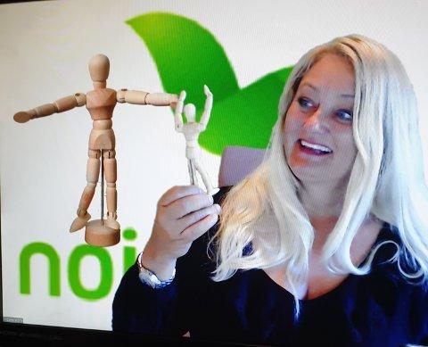 KURS: Kursholder og utvikler er Vibeke Doksæter Horn fra firmaet Nor Selection A/S, er stolt over å kunne bidra til delingsdugnaden av kompetanse, for å hjelpe permiterte og arbeidsledige tilbake i jobb.