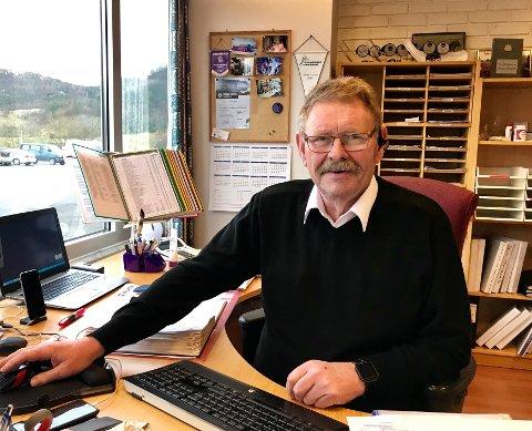TØFFE TIDER: Daglig leder Sverre Haga hos Sverre Haga AS har tapt rundt 10 millioner kroner på avbestillinger etter at koronaen satte inn i mars.