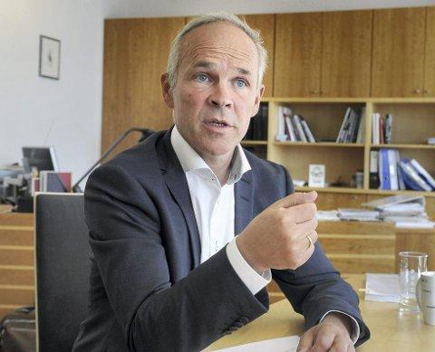 – Folk kan bygge mer uten å søke, lover kommunal- og moderniseringsminister Jan Tore Sanner. (Foto: ANB arkiv)