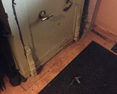 Mye ble tatt fra Hammerstuene i natt, men bilnøklene ble kastet på gulvet og lå igjen lørdag morgen