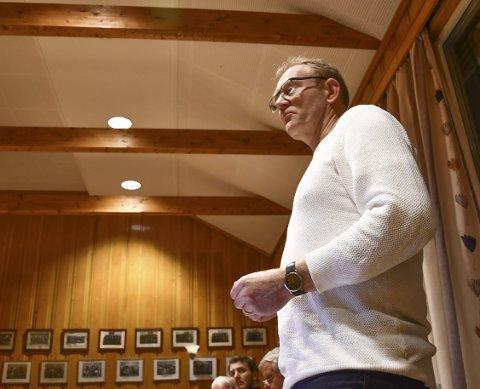 Kjetil Torp: Mente rådmannens budsjettforslag var uansvarlig, og la frem et alternativt budsjettforslag fra KrF. Det fikk kun støtte fra KrF sine representanter. Foto: Olav Loftesnes