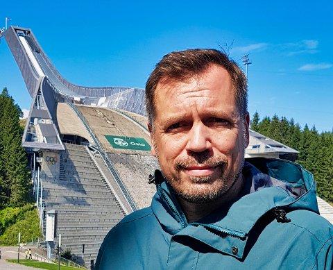 LOKALFORANKRING:Stefan Marx er fra før blant annet styremedlem og markedsansvarlig i Nittedal Skiskytterlag.