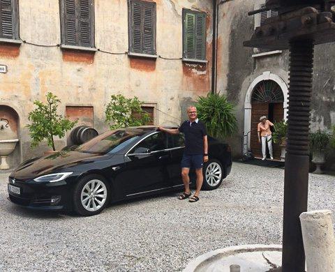 Ole Morten Kristiansen kjørte hele 8000 kilometer gjennom Europa med elbil.