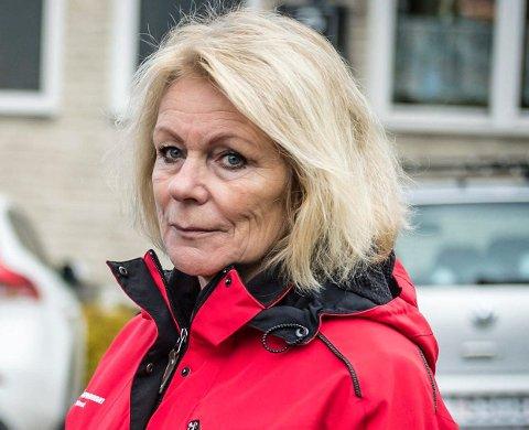 – KLART DET ER FRUSTRASJONER: Fagforbundet-leder Elisabeth S. Arntsen forteller om voksesmerter når tre organisasjoner skal bli èn, og hun vet at det blir utfordringer med lokaliseringen.