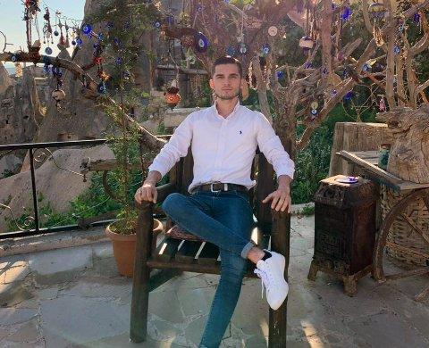 MISTET LIVET: Fatih Karaboyun (22) fra Drammen var sammen med to andre involvert i en trafikkulykke i Tyrkia 21. desember. Han omkom senere som følge av skadene.