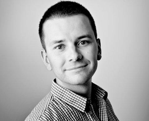 INNTEKTSTOPPEN: Øyulf Hjertnes i Bergens Tidende var den best betalte redaktøren frå Sogn og Fjordane i 2017.