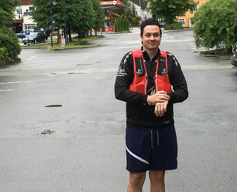 ULTRALØP: Karl Martin Opseth Norbom brukte nesten ti timar på 53 kilometer.