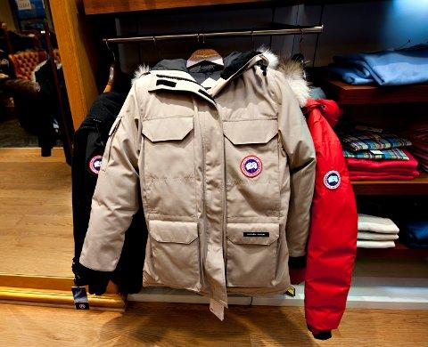 POPULÆRT MERKE: Jakkene som ble stjålet er av merkene Canada Goose (som på bildet) og Parajumpers.