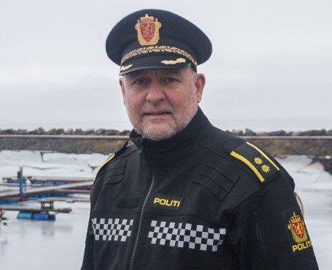 BEKYMRET: Stabssjef Pål Erik Teigen i Innlandet politidistrikt er bekymret for respekten for politiet blant befolkningen. Foto: Tobias Båkind