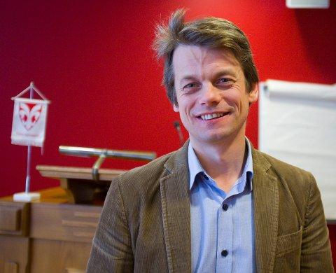 RÅDMANN: Jostein Førre begynte i jobben i Sveio i fjor vår.