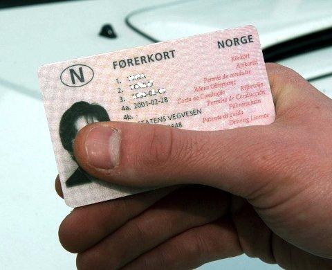 Illustrasjonsbilde førerkort