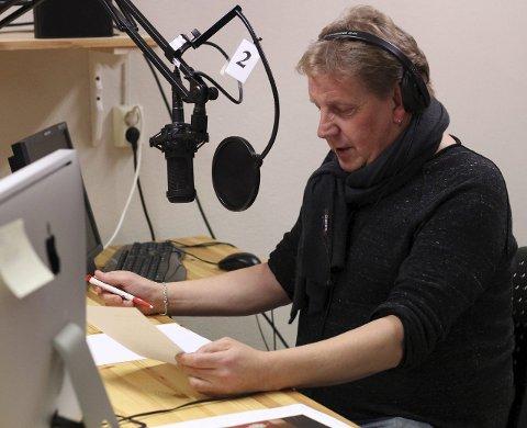 BORTE: Jostein Bakke blir savnet, både bak mikrofonen i Radio Domen og ellers.: