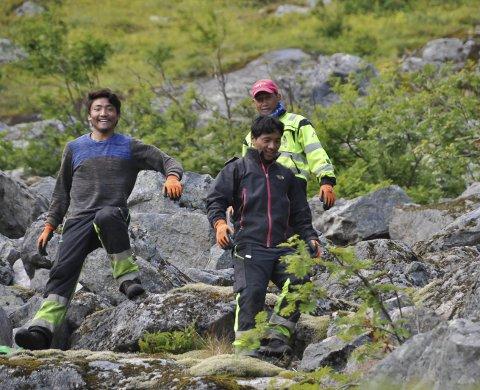 Bygger videre: 13. august starter arbeidet med sherpastien i Reinebringen. Arkivfoto: Henning Johnsen