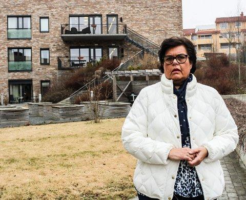 OPPRØRT: - Dette er en skandale, sier Anne Bramo (Frp) om at rådmannen vil bygge færre sykehjemsplasser enn politikerne har vedtatt.