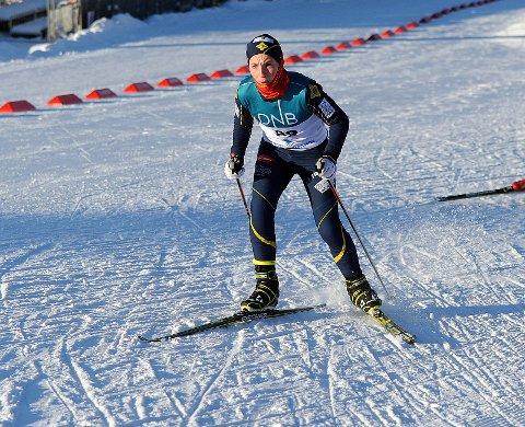 OPPTUR: Fredrik Sjøholt var strålende fornøyd etter kretsmesterskapet i helgen og gikk blant annet inn til en bronsemedalje i G13.