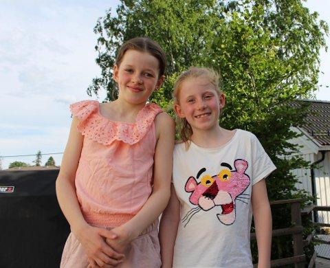 ALLERGIPLAGET: Søstrene Emily og Julie Sætrang er ikke så store tilhengere av våren på grunn av alle plagene den medfører.
