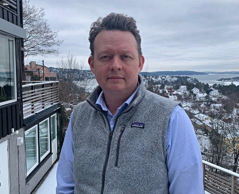 GRÜNDER: Lars Syse Christiansen startet bedriften Wanda i august. Idéen kom etter at han selv lette etter ekstra plass.