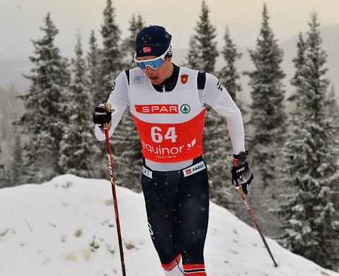GOD START: Vetle Thyli fra Raufoss gikk et meget godt åpningsrenn og ble nummer 12 på Beitostølen.