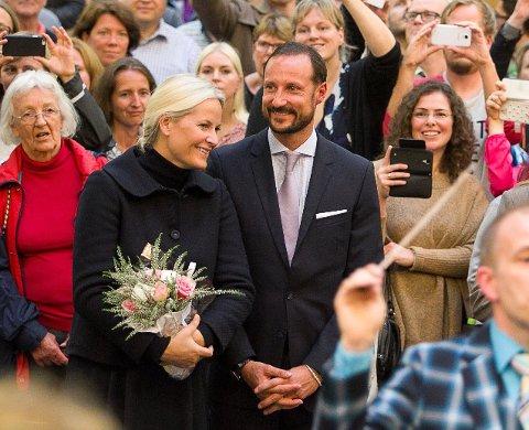 Da kronprinsparet siste besøkte Follo, var de blant annet i Kolben.