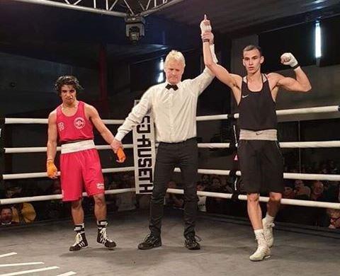 22 år gamle Haug slo Bader Saqer i finalen for menn i 60-kilosklassen.