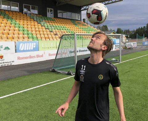 NÆRMER SEG RETUR: Christian Aas spilte for Ull/Kisas rekruttlag i 6-1-seieren mot Fet.