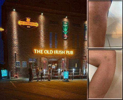 RAPPORTERT: Gjester som tok med seg drikke fra uteserveringen til The Old Irish Pub har gitt utestedet en rapport mot seg. Bildet er fra tidligere.