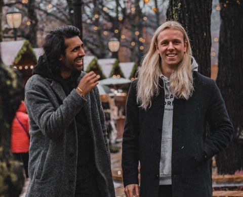 """PREMIEREKVELD: I kveld slipper første episode av """"Hjem til jul"""" sesong to. Bak ideen står Amir Shaheen (33) og Kristian Andersen (25)."""