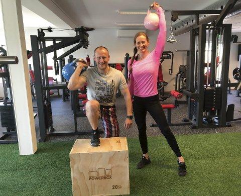 ATLEtix: Jørn og Aslaug Pettersen driver treningsstudioet Atletix, som flyttet inn i nye lokaler i Myra i somnmer. Atletix samarbeider med NAV på Vegårshei, og har flere tilbud for de som vil med i Aktiv på dagtid.Arkivfoto