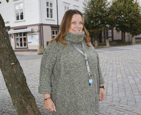 Korona: Kristin de Lange Johannessen, som sitter i kriseledelsen i Tvedestrand kommune, forteller at koronapandemien er over i ny fase. Arkivfoto