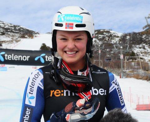 PÅTOPPNIVÅET:Thea Louise Stjernesund fra Hakadal IL er ikke uventet tatt ut på neste års verdenscuplag.