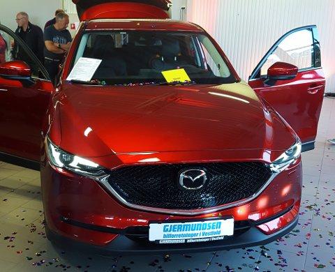 NY SUKSESS? Mazda CX-5 ble nylig vist fram hos Gjermundsen Auto.
