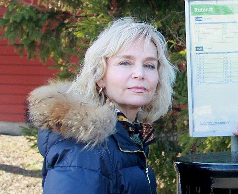 Håper Ruter snur: Inger-Helene Korsgaard forteller at hun får mye oppmuntring og støtte fra andre busspendlere.