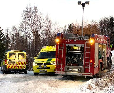 På fredag skal politikerne i Fauske kommunestyre si sitt om den nye foreslåtte brannordningen i Salten. Foto: Øyvind A. Olsen.
