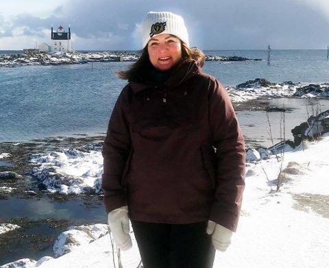Værøy-ordfører Susan BergKristiansen.