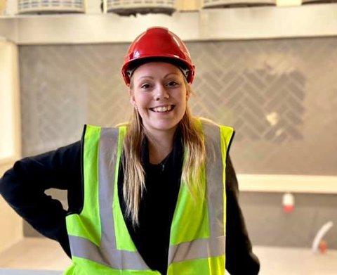 Comfort Hotel Bodø er ennå ikke helt ferdig.  Belinda Gjerstad Bergli er ansatt som Barception Manager.