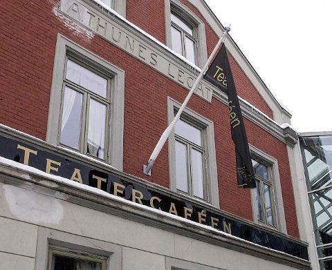 MIDDAG FOR 150 KRONER: Drammen Scener ønsker å gjenåpne Teaterkafeen på enkelte av forestillingene deres som et ledd i jubileumsfeiringen. Drammens Teater er 150 år, og hovedrett til 150 kroner ligger inne i planene.