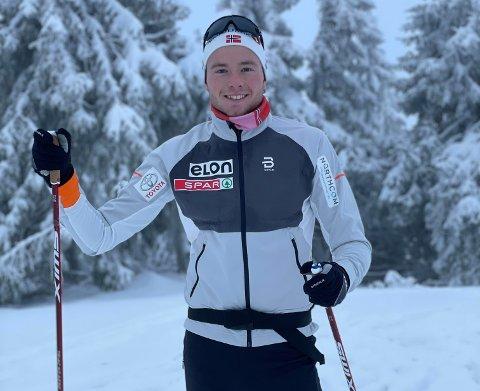 PÅ MEDALJEJAKT: Gjøran Tefre har funne att gneiten etter skadene, men dei er framleis noko han må ta omsyn til. Han skal no likevel jobbe knallhardt for å kunne gå i OL i 2022.