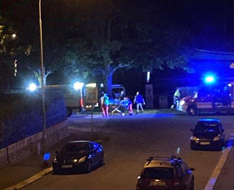 En kvinne ble reddet opp av elven ved Cicignon sent torsdag kveld.