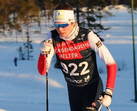 MOTIVERT: Marine Svendsby er motivert for å gå fort på ski til vinteren selv om det er en stor nedtur at juniorenes norgescup i langrenn er avlyst.