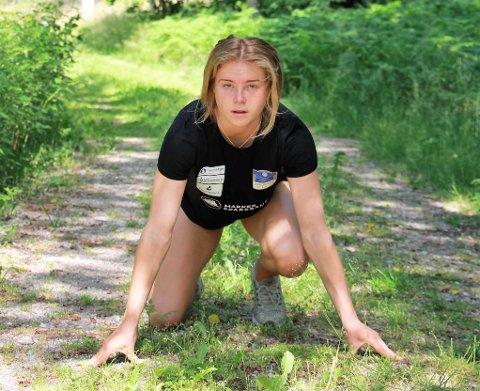 REKORDJAKT: Henriette Jæger håper å klare EM-kravet på 400 meter under helgens elitestevne i Bergen.