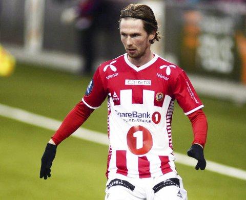 DRAGE i TIL-DRAKT: Thomas Drage spilte seks sesonger i TIL-drakt. Nå er han aktuell for en ny rød trøye i Fredrikstad FK.