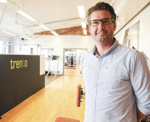Fornøyd: Daglig leder og hovedeier Stig Nyengen i Trento kan glede seg over gode resultater i 2016.Foto: Anita Jacobsen
