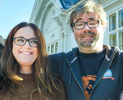 Glogersjef Margit Åsarmoen og jazzsjef Kai Gustavsen får støtte fra Norsk kulturråd til sine festivaler.