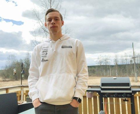 TRENER: Richard Sol i Elverum har søkt idrett - spesialisering i trenerrollen hjemme i Elverum.