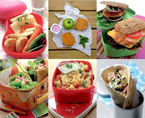 LUNSJ: Slik fremstiller Opplysningskontoret for Meieriprodukter den ultimate matpakken.