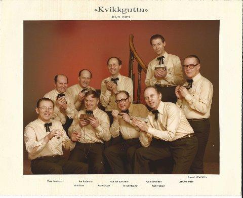 Her er orkesteret tatt i 1977.